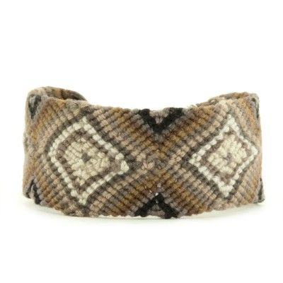 Sand Dollar Combo Woven Cuff Bracelet Yes please!