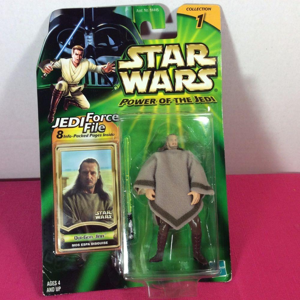 2000 Star Wars Power Of The Jedi Qui Gon Jinn