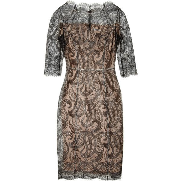 Erdem Anna lace dress ($2,720) ❤ liked on Polyvore