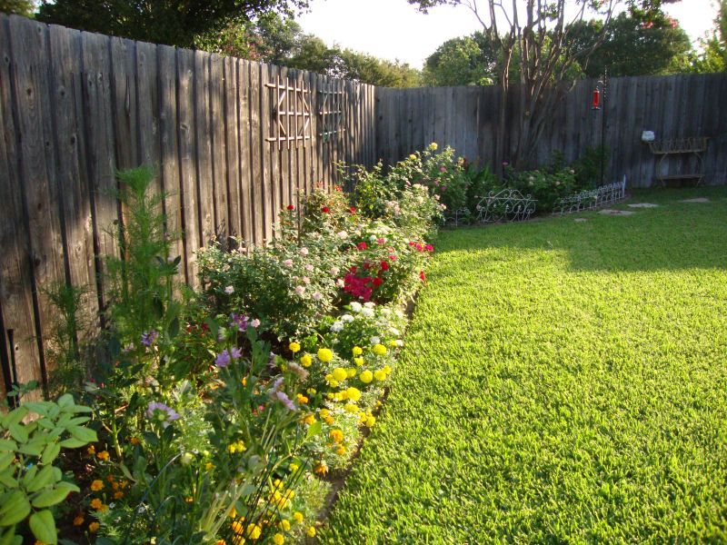 Flower Garden Ideas Texas north texas back yard landscaping ideas | landscaping pictures