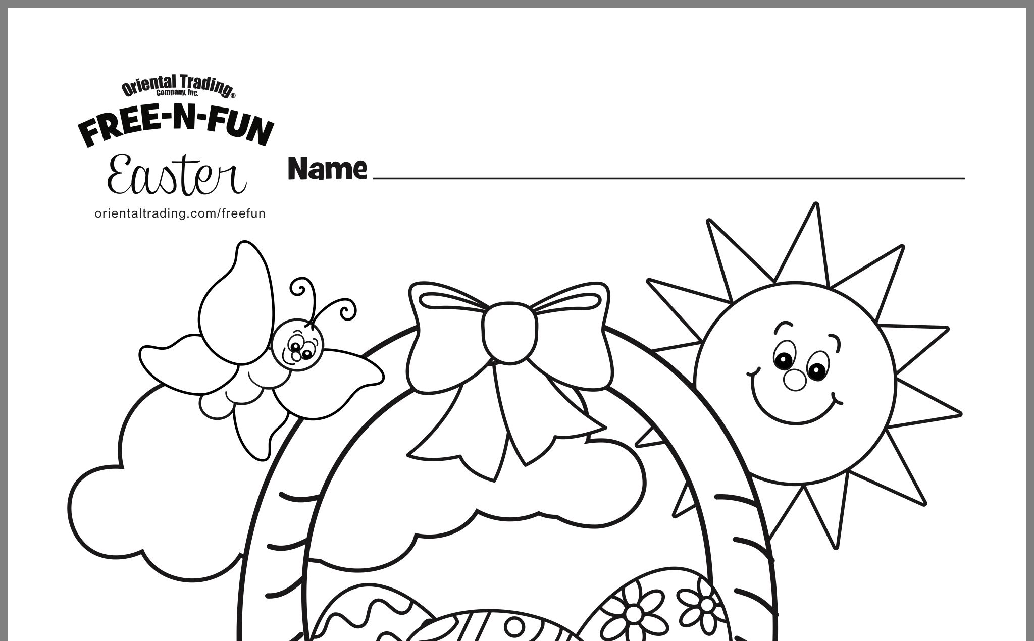 32+ Oriental trading coloring pages easter trends