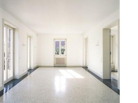 terrazzoboden ein im wohnzimmerbereich projekt in hamburg terrazzo reinigen preise