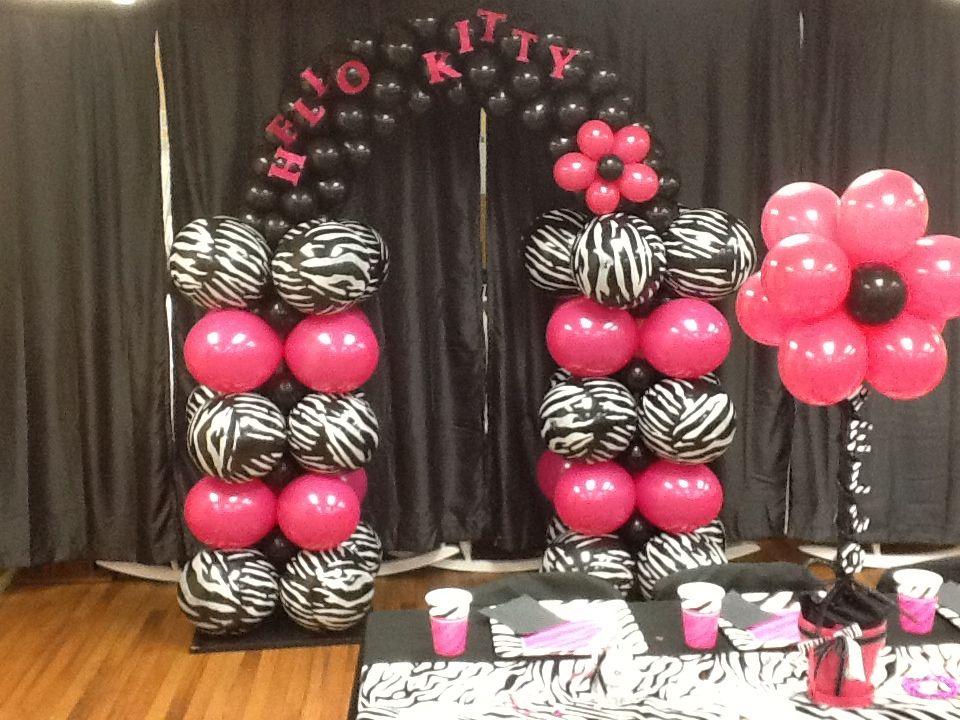 zebra print decorating ideas party animal print decorating ideas