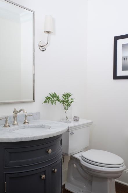 12 Designer Bathrooms for Less bath redo\u0027s Pinterest Bathroom
