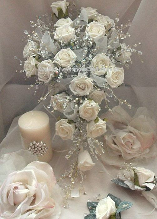 Bridal Bouquets Designs | Silk Wedding Bouquets - artificial silk ...