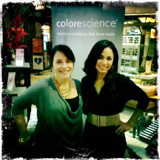 Colorescience Ladies Lauri Dickenson And Liz Ovando Looking Beautiful At The Skin Chic Event In Montana Colorescience Celebrities Lady