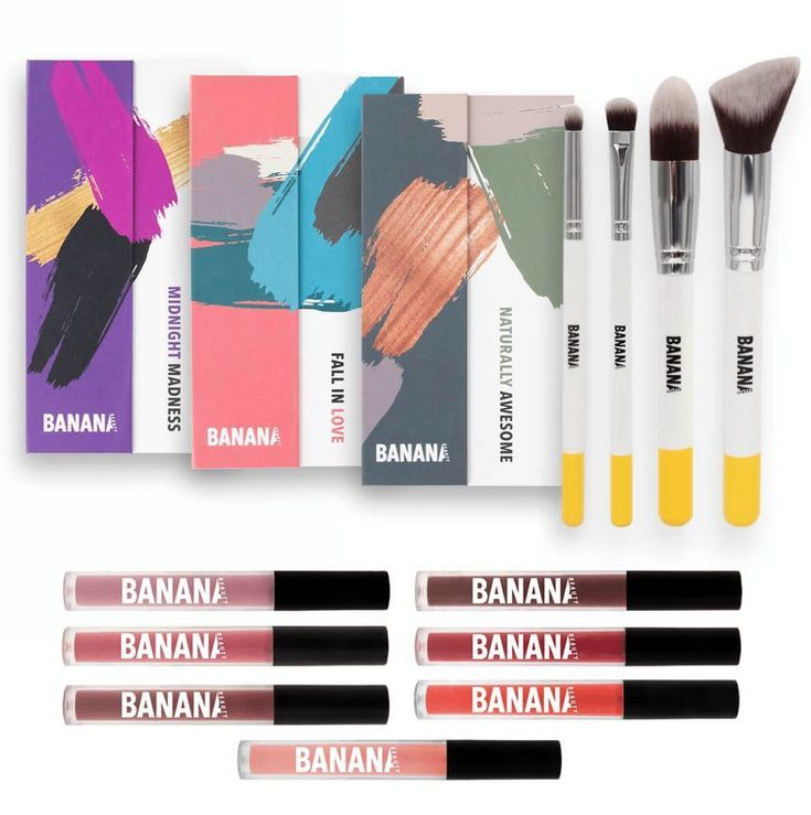 Banana Beauty Experience Lipsticks Eyeshadow Instagram Hype