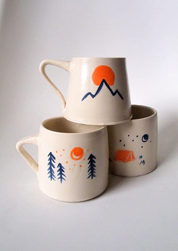 #pnw #ceramics #handmade #illustration #potterypaintingideas