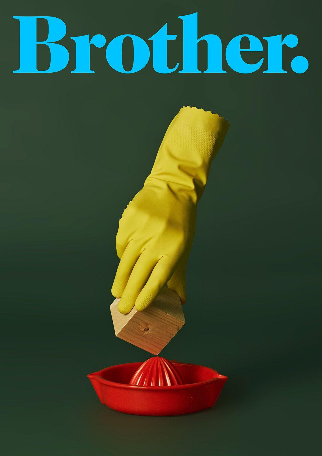 Brother Ad School by Christian Lopez Fotografía:Edu Viera #artdirector #fotografo #campaña #escapismo