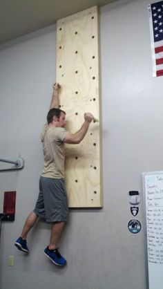 pull up bar homemade pegs - Google Search