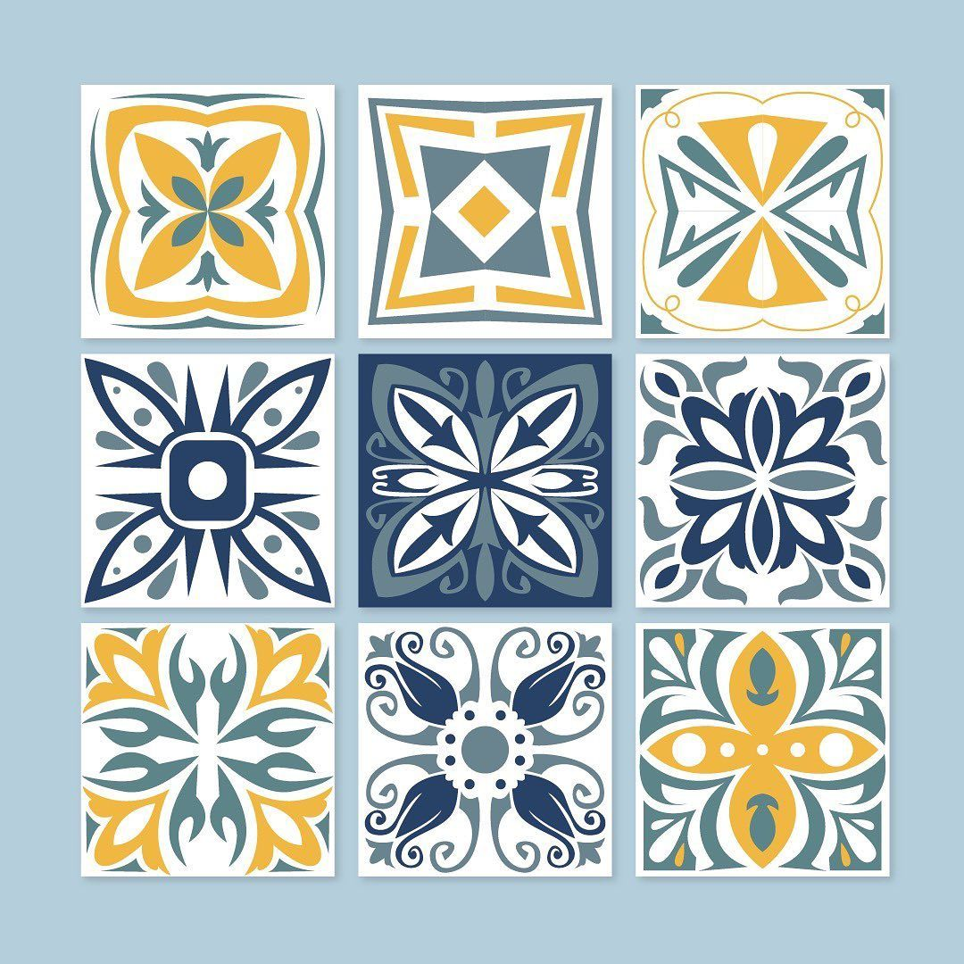 920 Likes 11 Comments Freepik Company Freepik On Instagram Ornaments In Architectural Art Are Used To In 2020 Tile Patterns Floral Tiles Decorative Tile