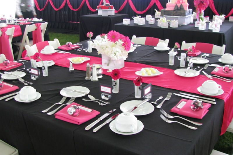 Koppers Chocolate Chocolate Mint Lentils Hot Pink White Wedding Centerpieces Pink Wedding Receptions Black Wedding Themes