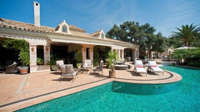 Fantastic Villa In La Zagaleta Benahavis Marbella Spain Marbella Real Estate