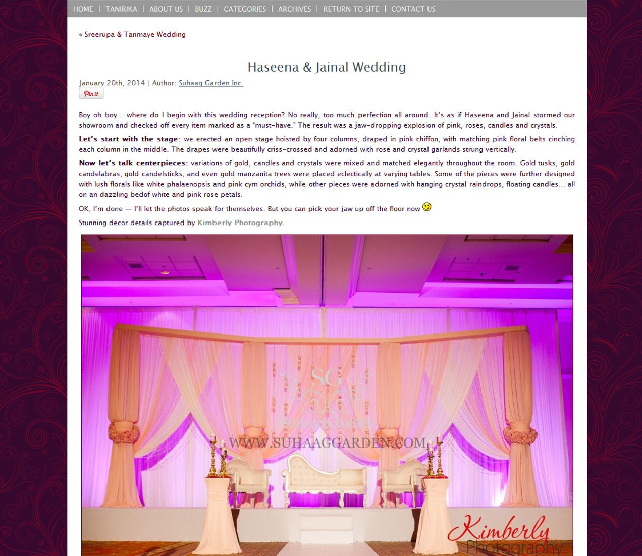 Jaw dropping design from Suhaag Gardens! Florida Indian Wedding Decor (With  images) | Florida indian wedding, Indian wedding decorations, Wedding  decorations