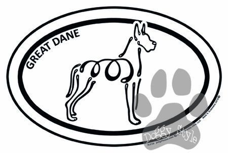 Great Dane Euro K Line Magnet Doberman Love Your Pet Euro