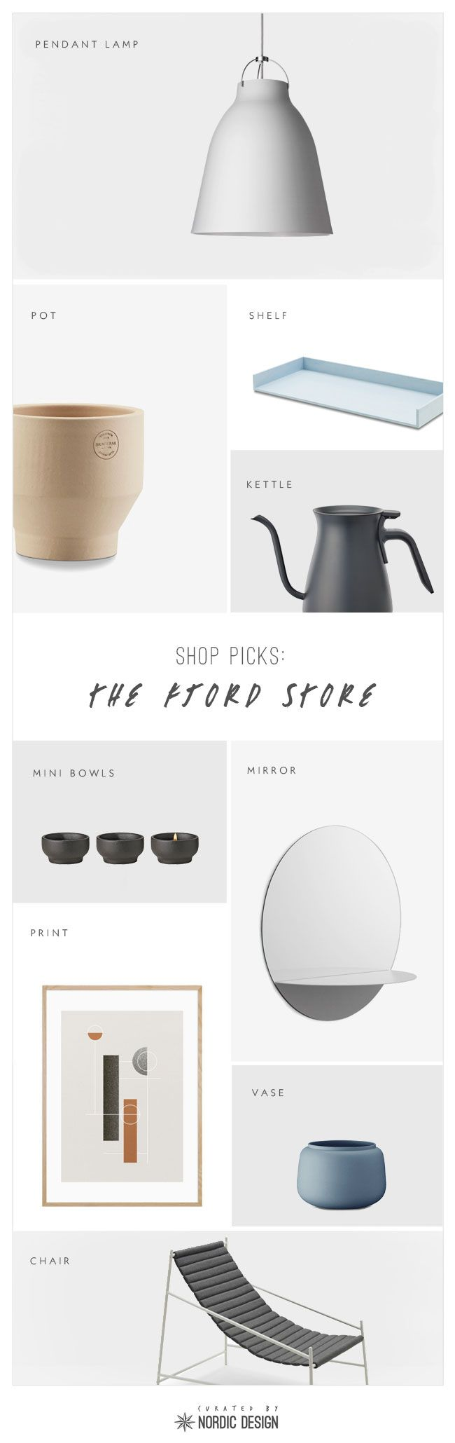 Shop Picks: The Fjord Store #skandinavischwohnen