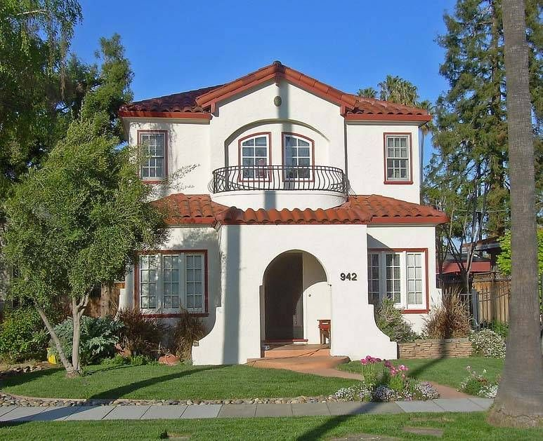 American Architecture With A Mediterranean Flair Spanish Colonial HousesSpanish BungalowSpanish Style