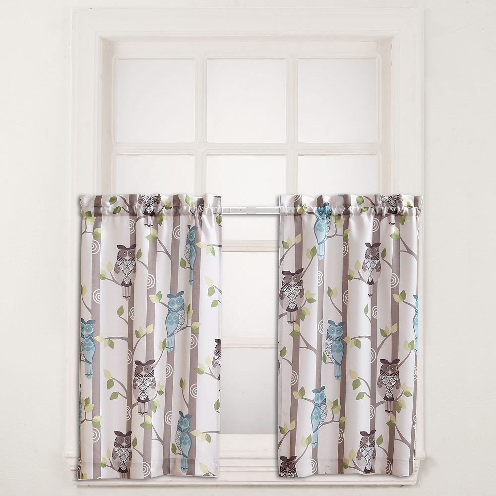 Kitchen window curtain  No  Hoot Tier Kitchen Curtains  Kitchen Project  Pinterest
