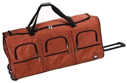 Rockland Luggage 40 Rolling Duffle Bag PRD340  5f780d5e10990