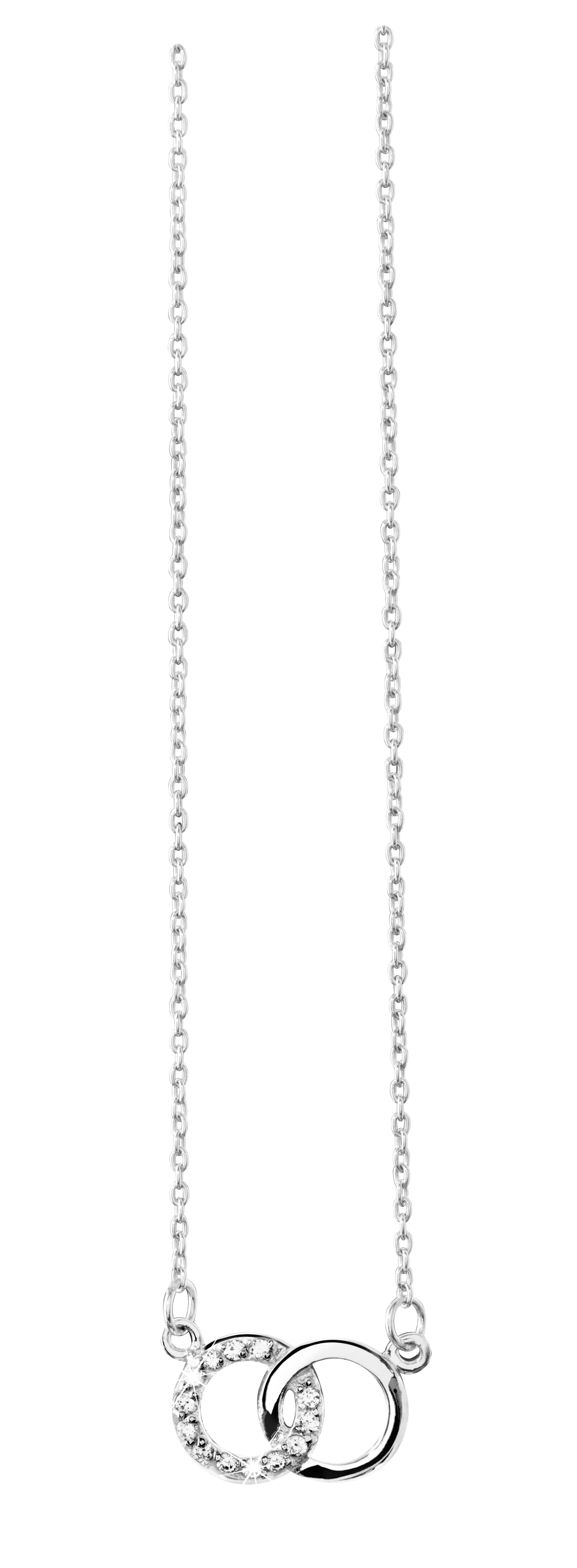4a675bd9b8f84 Collier en argent massif avec oxydes de zirconium  collier  diamantor   bijoux  mode