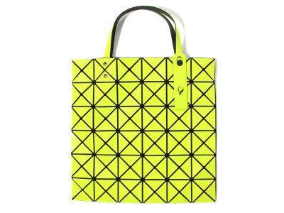 6dd0fc3d37 BAO BAO ISSEY MIYAKE Tote bag BILBAO LUCENT-1 BB41AG302 Yellow Green JAPAN