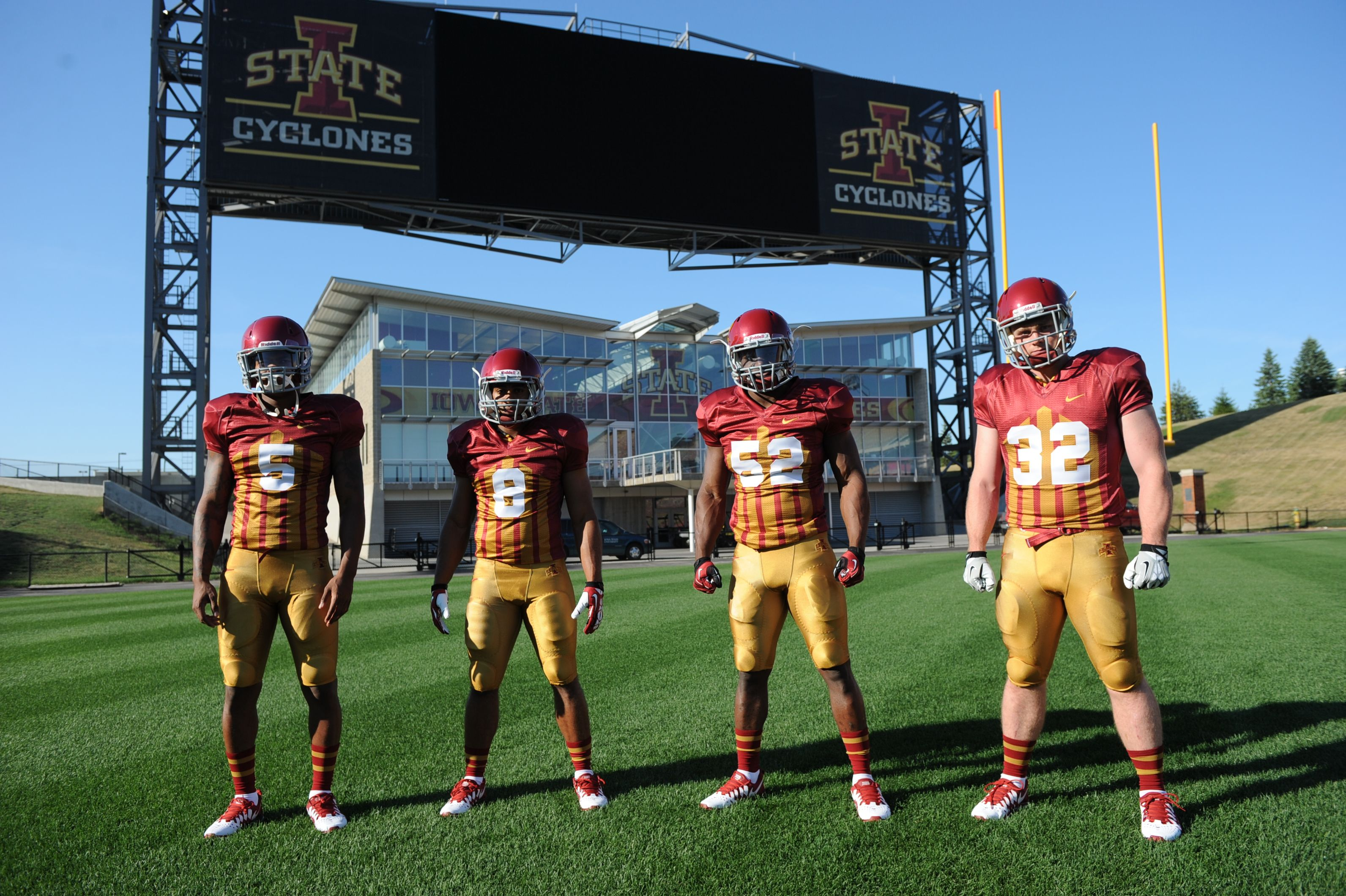 They Are Similar To The 1920s Uniform Worn By Iowa State Legend