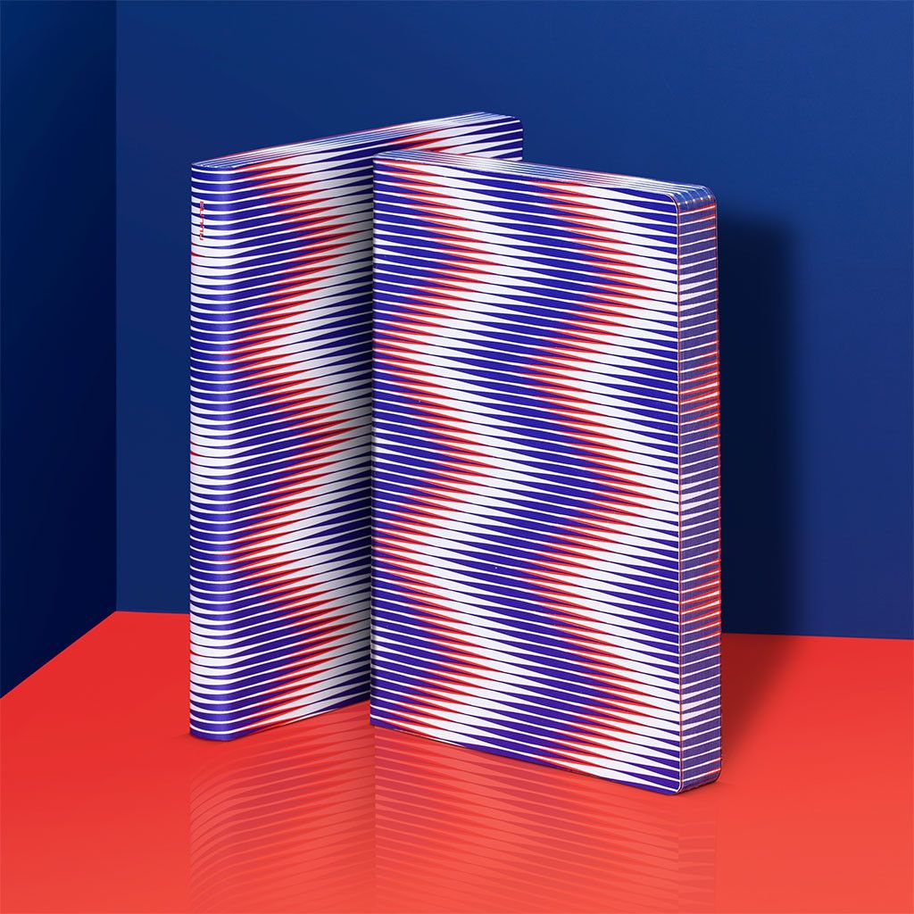 Zig Zag – notebook / Notizbuch – nuuna by brandbook // nuuna notebooks are designed in Frankfurt and manufactured in Germany from sustainable materials which are made in Europe – find out more about our brand and discover our versatile collection of design notebooks on nuuna.com.