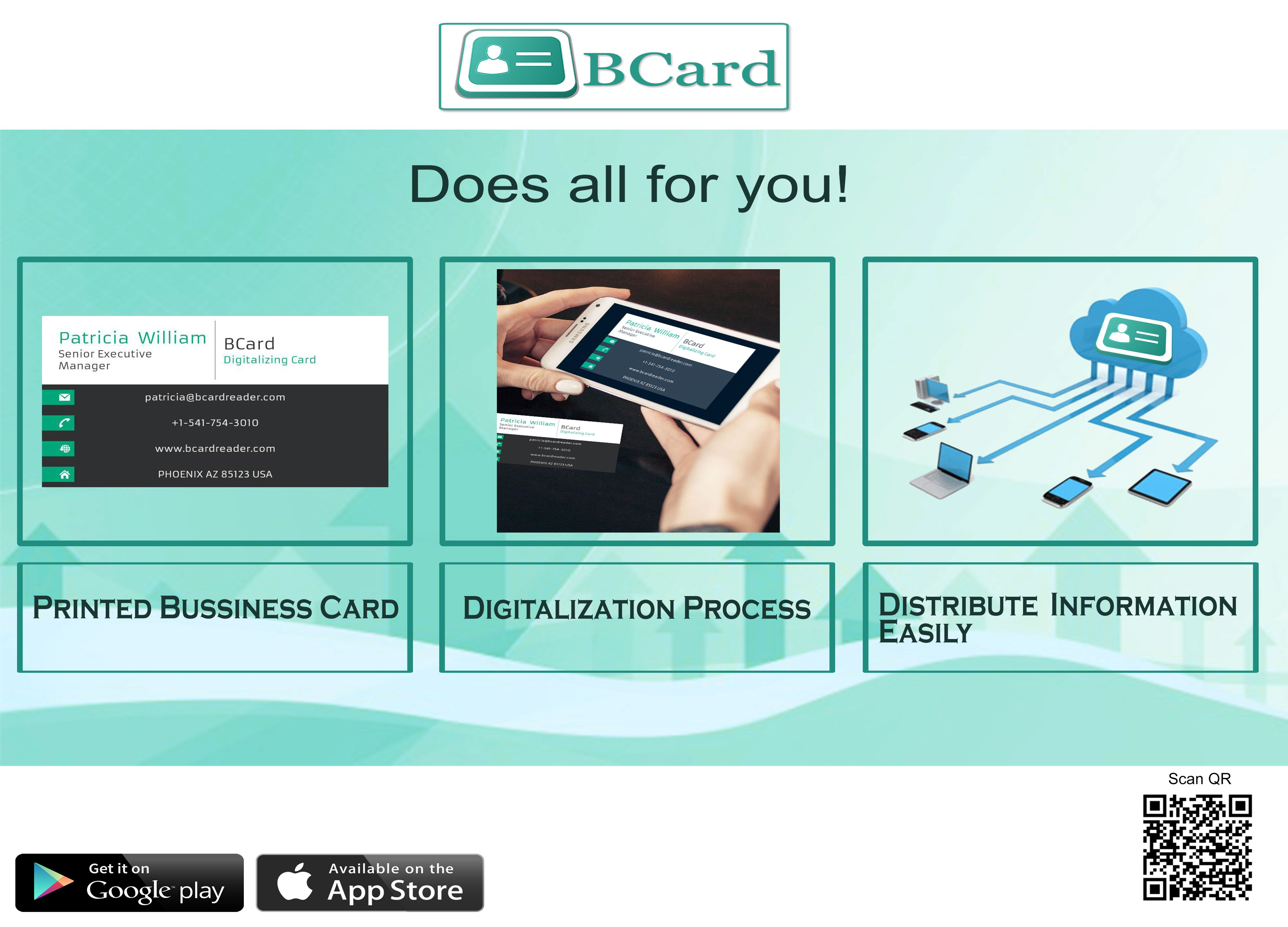 Save Paper Save Trees Manage Your All Paper Business Card with BCard ...