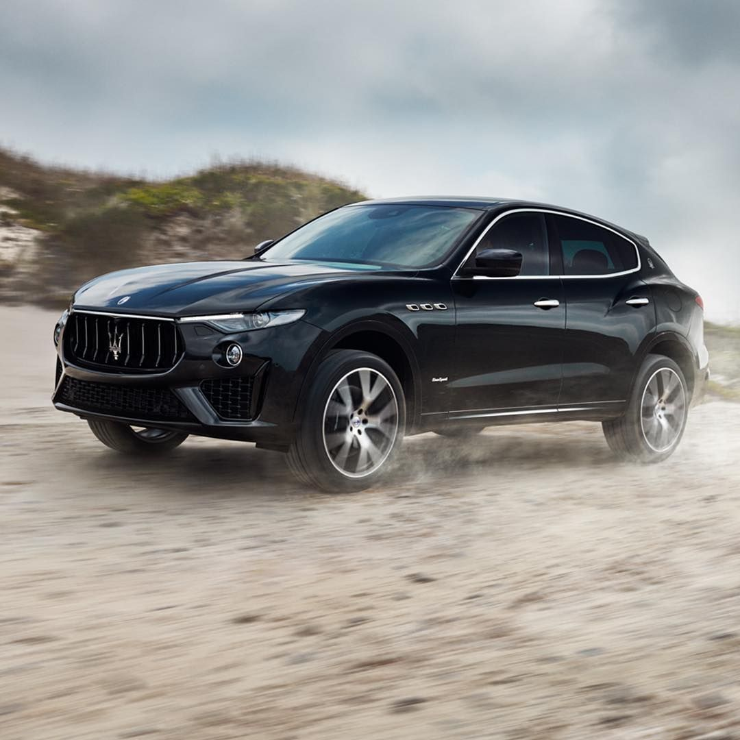 "Photo of Maserati USA on Instagram: ""Capable of turning heads and turning off the beaten path. Levante, the #Maserati of SUVs. #MaseratiLevante"""