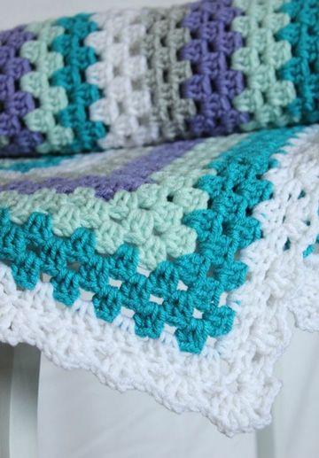 Unas colchas de crochet modernas con la calidez tradicional