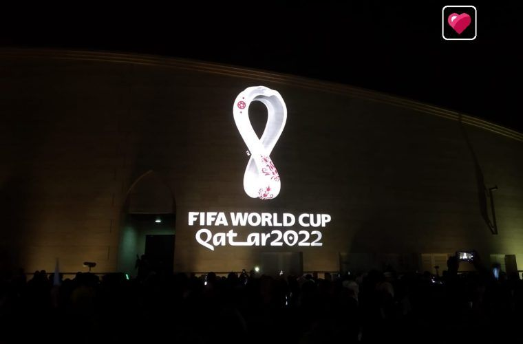2022 Fifa World Cup Qatar Logo Unveiled For All The World To See 2022 Fifa World Cup Fifa World Cup World Cup
