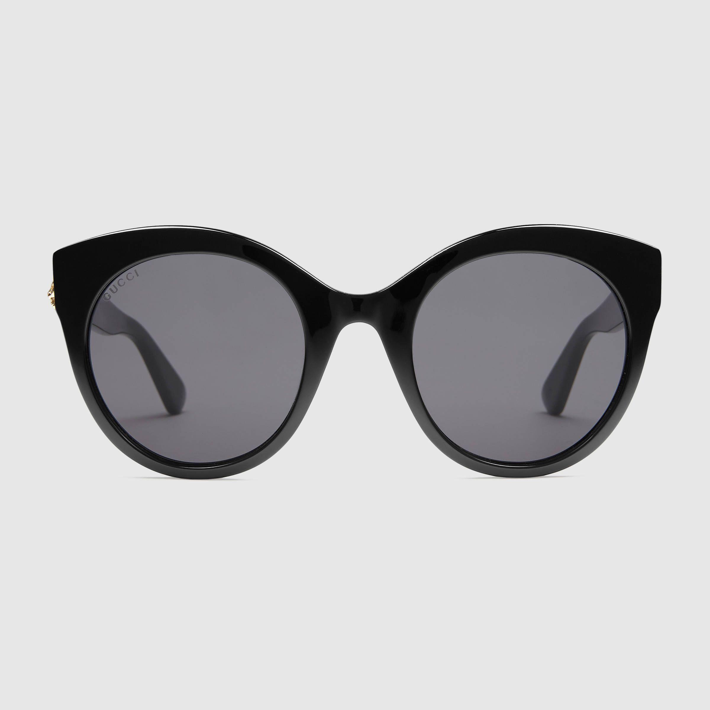 dd49ff7153a Oversize cat eye acetate sunglasses GUCCI