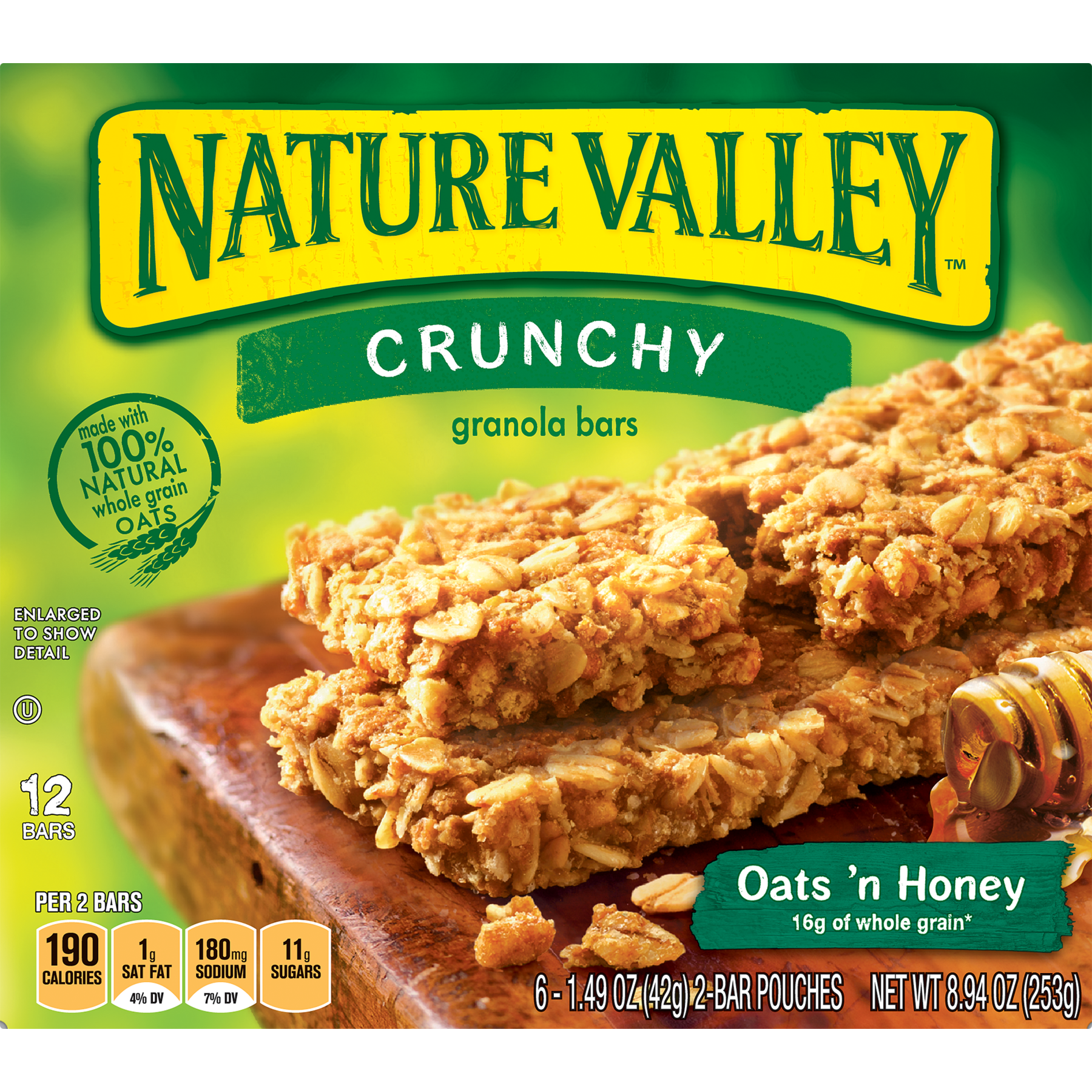 Food Nature Valley Crunchy Granola Bars Nature Valley Granola Honey Granola