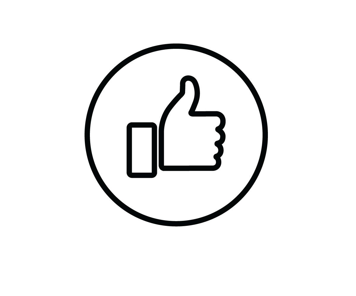 Facebook Like Button Icon Vector Black Outline Png Jpg Svg Icon Retail Logos Facebook Likes