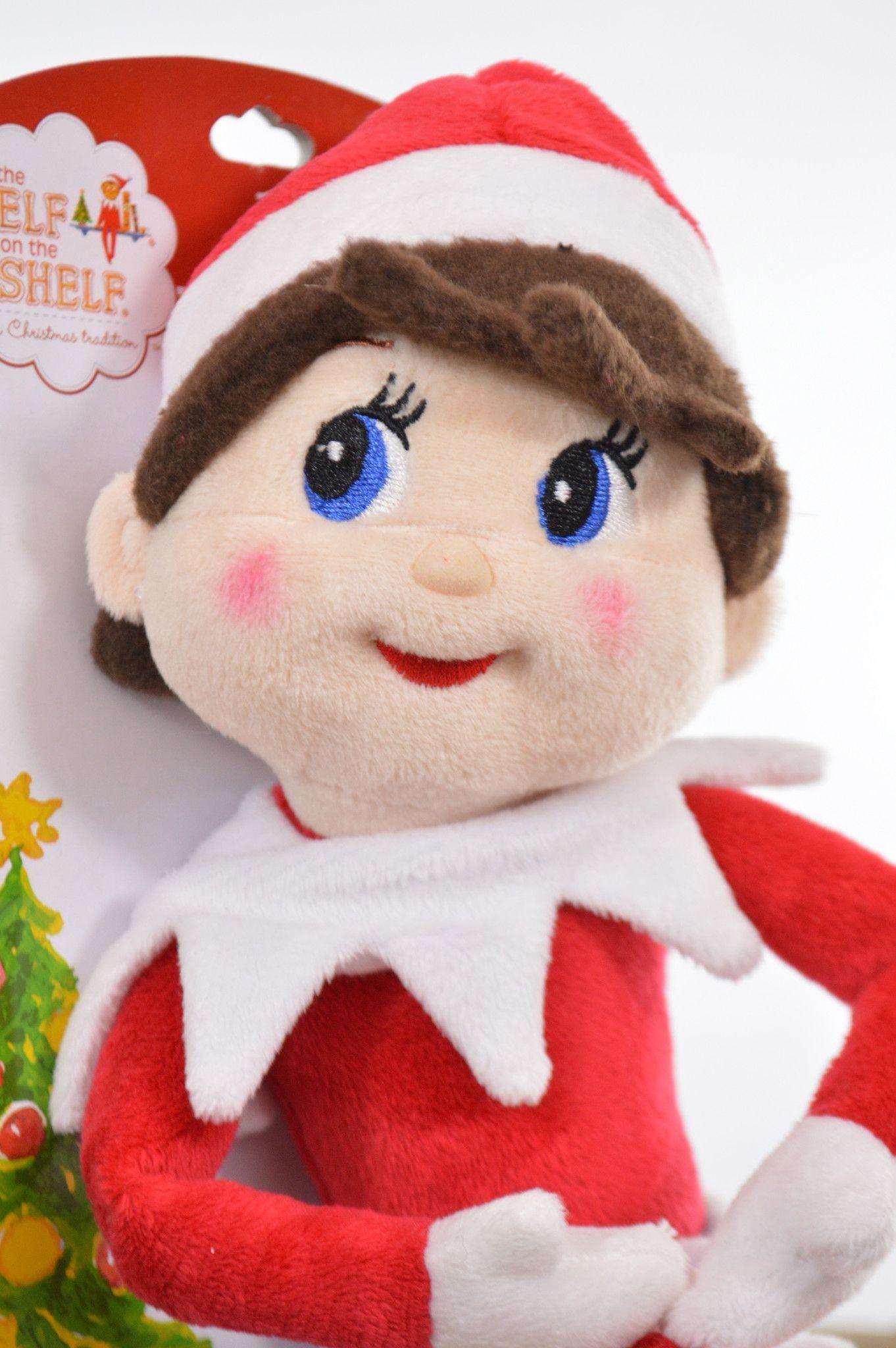 Elf On The Shelf Plushee Pals Brand New 13 Girl Plush Doll Elf