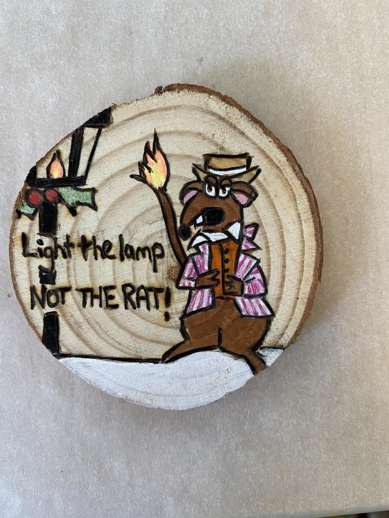 Light The Lamp Not The Rat