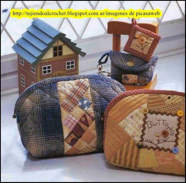 Patchwork solo patrones todo gratis bolso monederos - Patchwork en casa patrones gratis ...