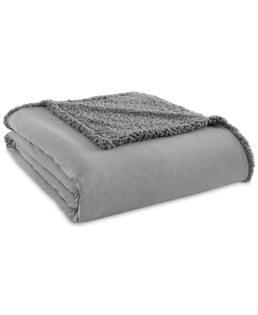Shavel Micro Flannel To Sherpa King Blanket Reviews Blankets