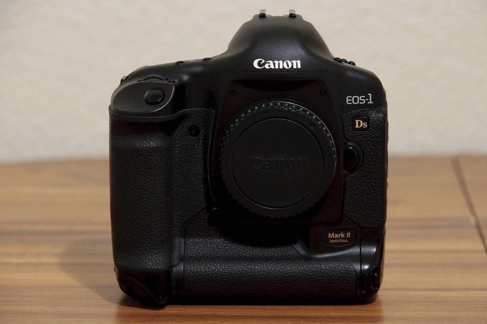 Canon Eos 1ds Mark Ii 16 7mp Digital Slr Camera Ac Power Supply Batt Charger Digital Slr Camera Digital Camera Canon Eos