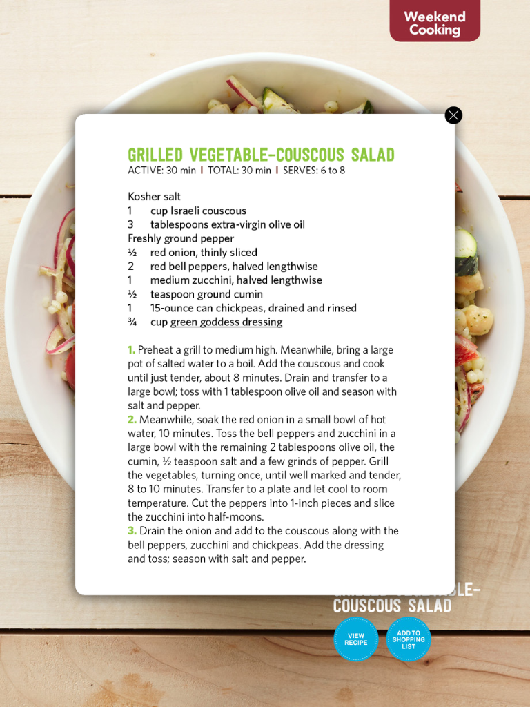 Pin by mel b on recipe cardssavory pinterest recipe cards and vegetable couscous couscous salad grilled vegetables june summer food magazine food networktrisha recipe cards yum yum forumfinder Choice Image