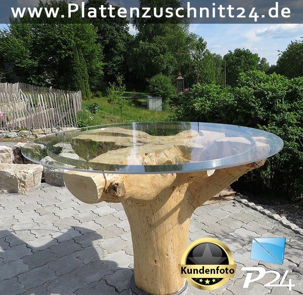 tischplatte mit plexiglas anwendungsbeispiele plexiglas makrolon dibond pvc tisch. Black Bedroom Furniture Sets. Home Design Ideas