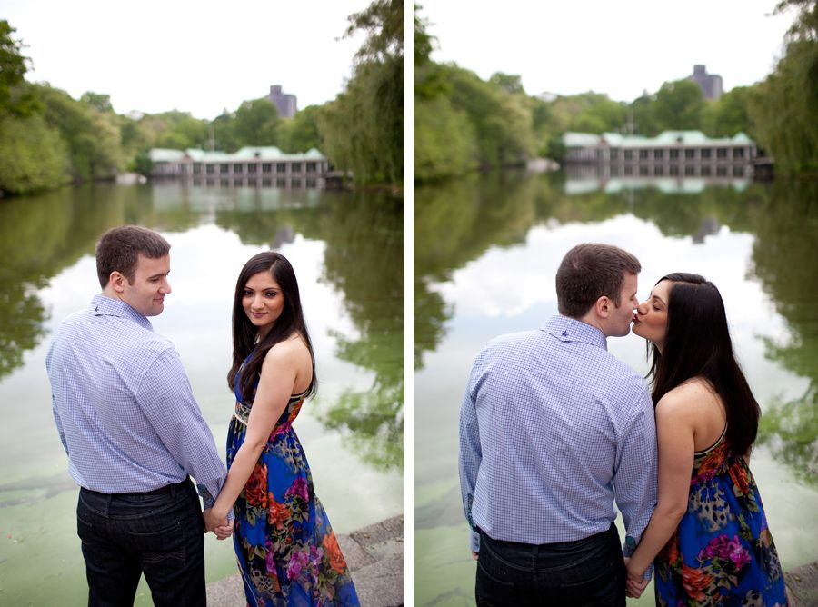 Rima and Michael: Engagement session at Central Park