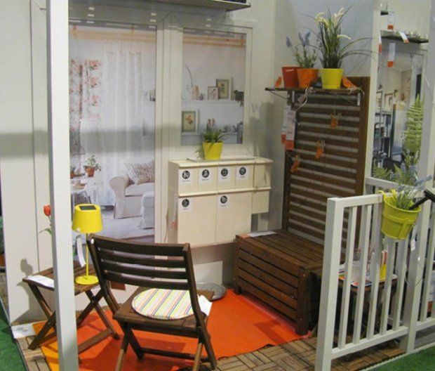 77 Praktische Balkon Designs: Małe Balkony - Aranżacje W Sklepie IKEA