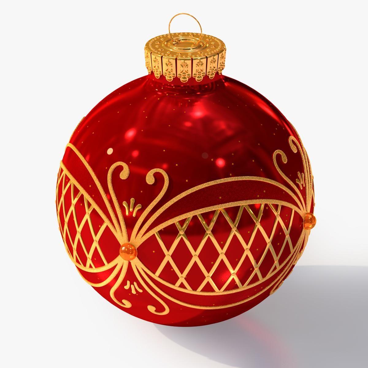 Christmas Ball 3d Model Ad Christmas Ball Model Vectors Patterns Flower Christmas Balls Christmas Christmas Bulbs