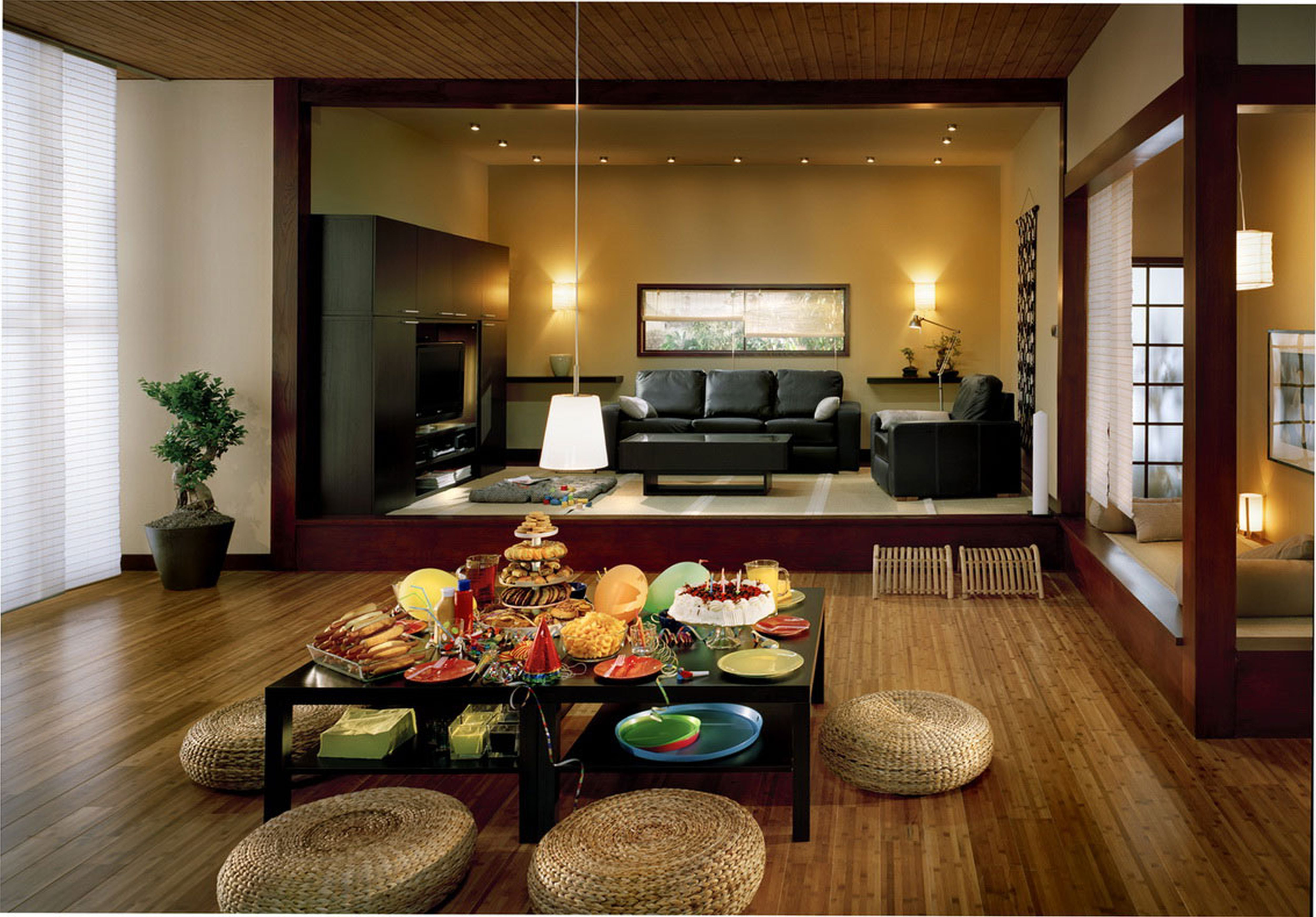 Love The Warmth In This Home Japanese Home Decor Japanese