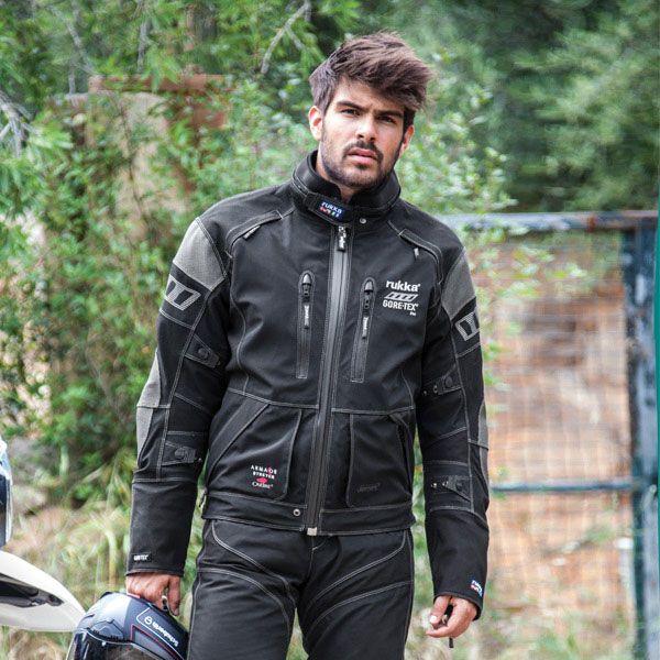 Rukka Armas Jacket Black Ruk962 Jackets Motorcycle Jacket Black