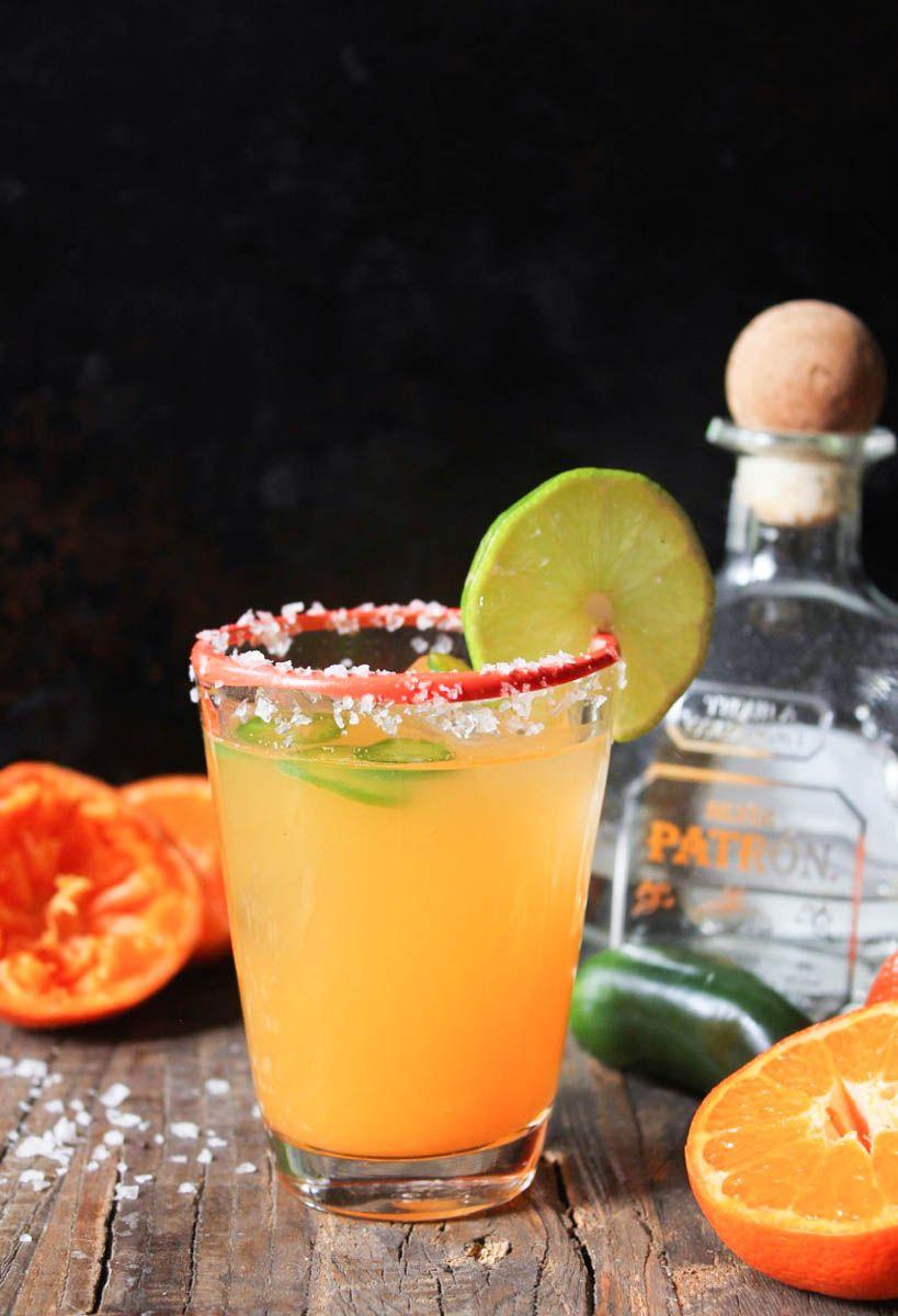 Clementine Jalapeño Margarita Recipe