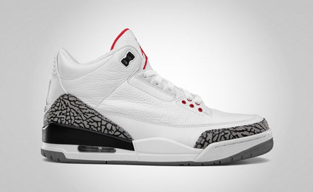on sale a6b73 b5ccc AIR JORDAN 3 WHITE CEMENT    I saw these in gray on gray at undefeated. I  want these! I have the 3s in the old school retro black and teal!