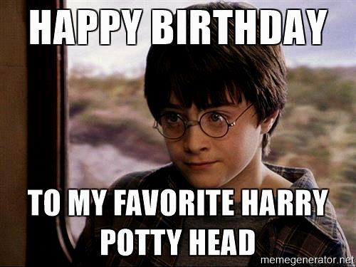 Top 20 Funny Harry Potter Birthday Meme For Potterheads Etandoz Harry Potter Birthday Meme Harry Potter Funny Happy Birthday Harry Potter