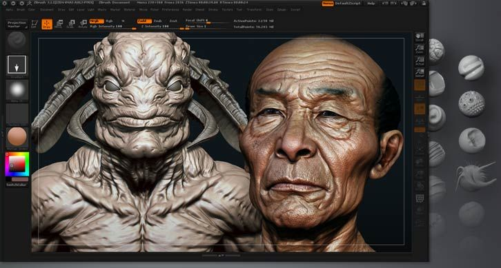 digital sculpture zbrush - Google 搜尋